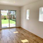シンプルな居室スペース